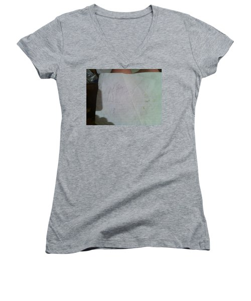 Conceptualizing - 1 Women's V-Neck (Athletic Fit)
