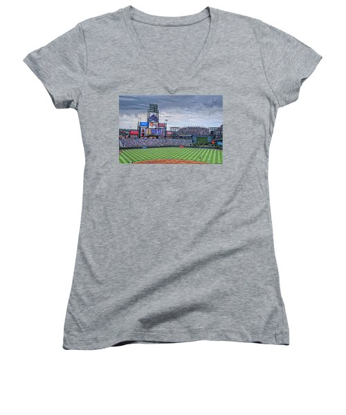 Coors Field Women's V-Neck (Athletic Fit)
