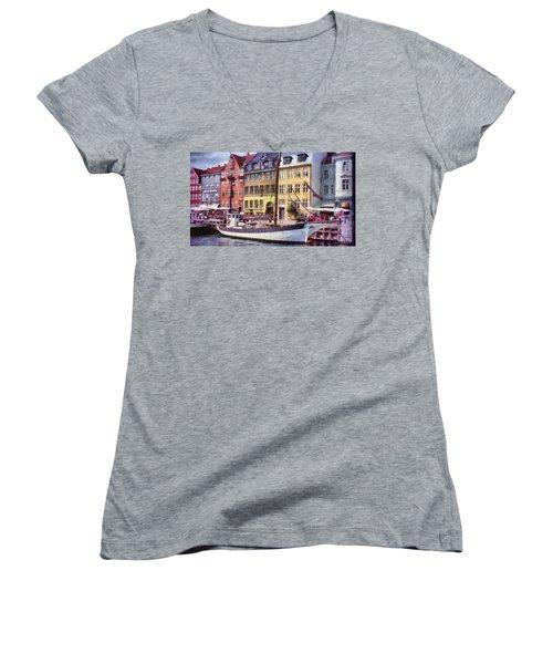 Copenhagen Women's V-Neck T-Shirt