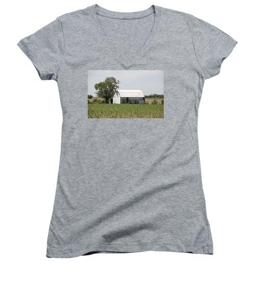 Corn Field Women's V-Neck T-Shirt