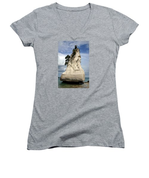 Coromandel Rock Women's V-Neck T-Shirt