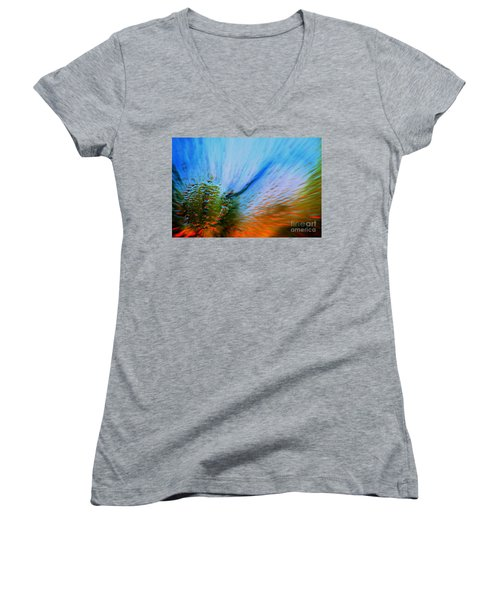 Cosmic Series 006 - Under The Sea Women's V-Neck T-Shirt