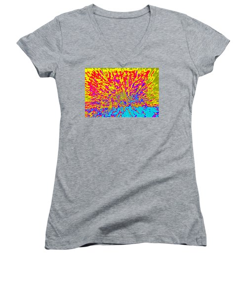Cosmic Series 015 Women's V-Neck (Athletic Fit)