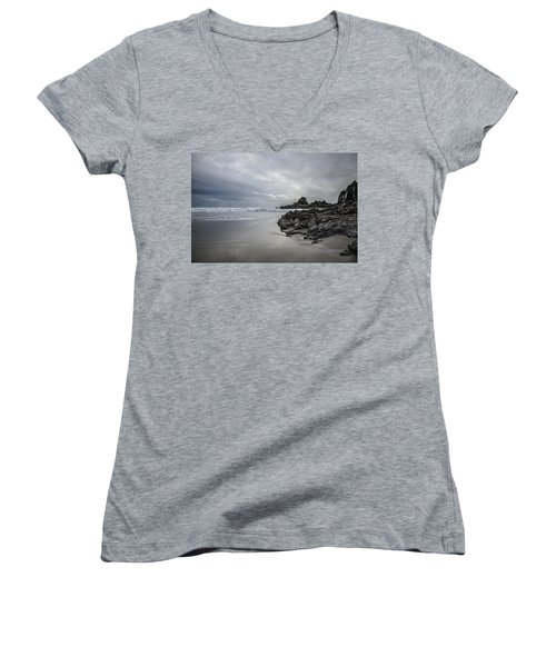 Cox Bay Afternoon  Women's V-Neck