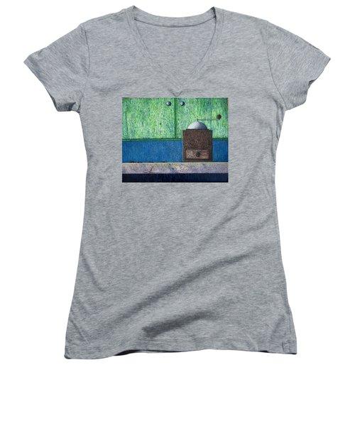 Crafting Creation Women's V-Neck T-Shirt (Junior Cut)