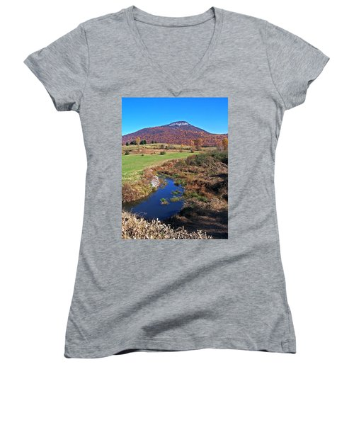 Creek In The Valley Women's V-Neck