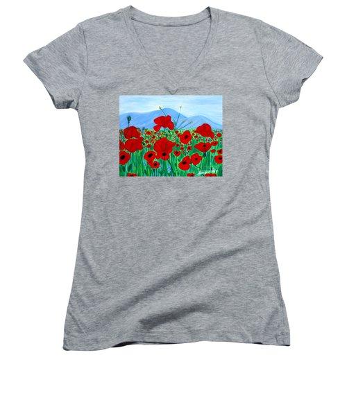 Crimea 2007. Soul Collection Women's V-Neck T-Shirt