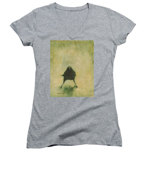 Crow 6 Women's V-Neck (Athletic Fit)