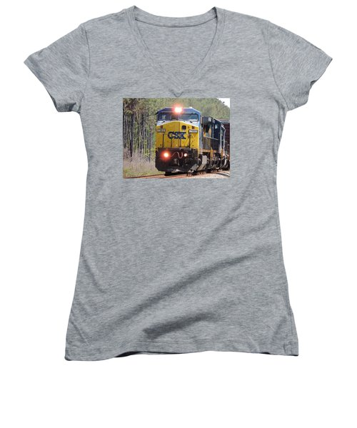 Csx 7363 Women's V-Neck (Athletic Fit)