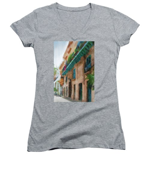Cuban Street Women's V-Neck