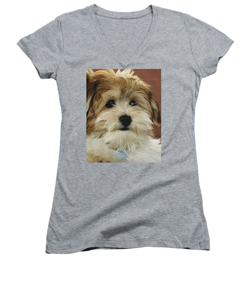Cutie Pie Women's V-Neck T-Shirt