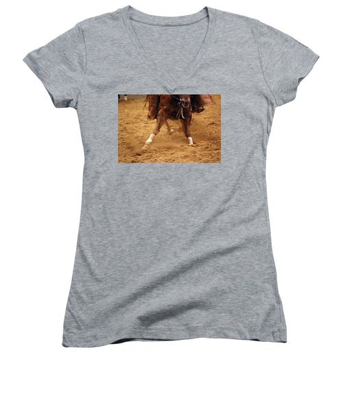 Cutting Horse 6 Women's V-Neck (Athletic Fit)