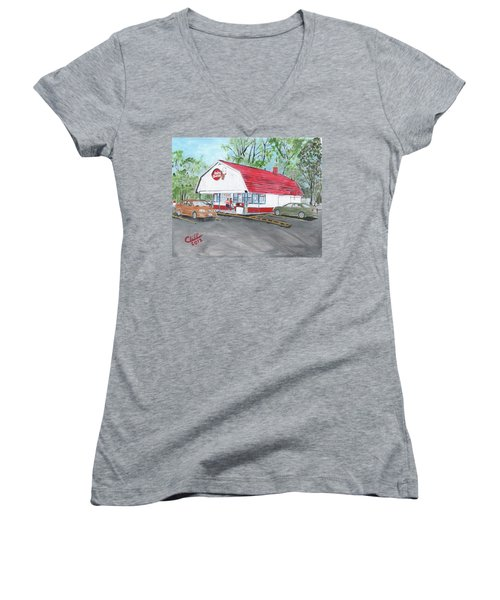 Dairy Queen  Women's V-Neck T-Shirt