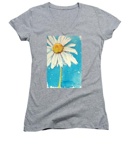 Daisy Women's V-Neck T-Shirt