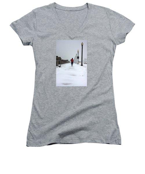 Dedication Women's V-Neck T-Shirt