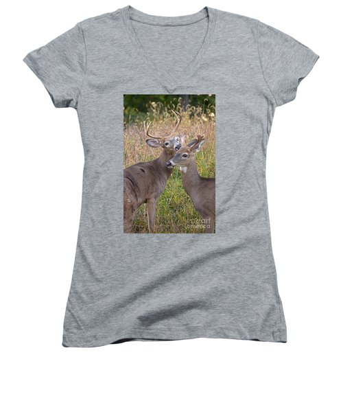 Deer 49 Women's V-Neck T-Shirt