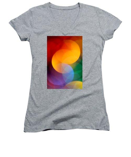 Deja Vu 2 Women's V-Neck T-Shirt (Junior Cut) by Dazzle Zazz