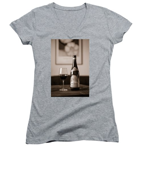 Delicious Amarone Women's V-Neck T-Shirt