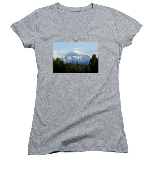 Denali A Closer Look Women's V-Neck T-Shirt