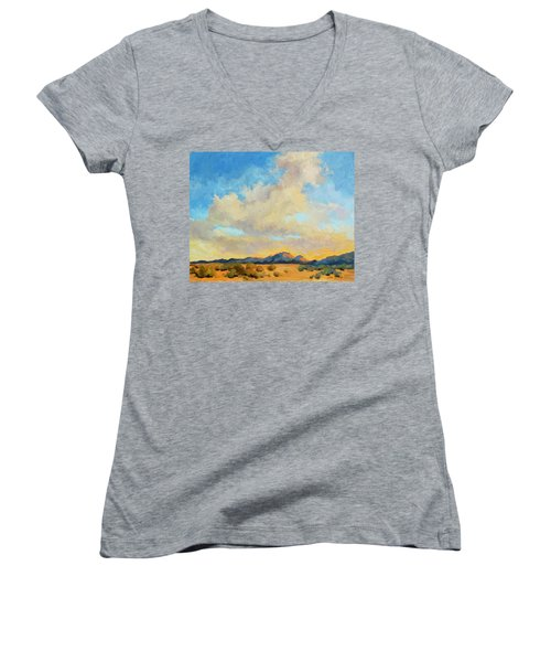 Desert Clouds Women's V-Neck