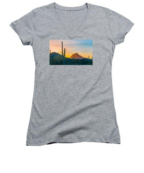 Desert Colors Women's V-Neck T-Shirt
