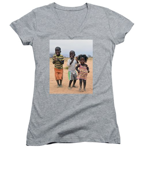 Desert Dance Women's V-Neck T-Shirt