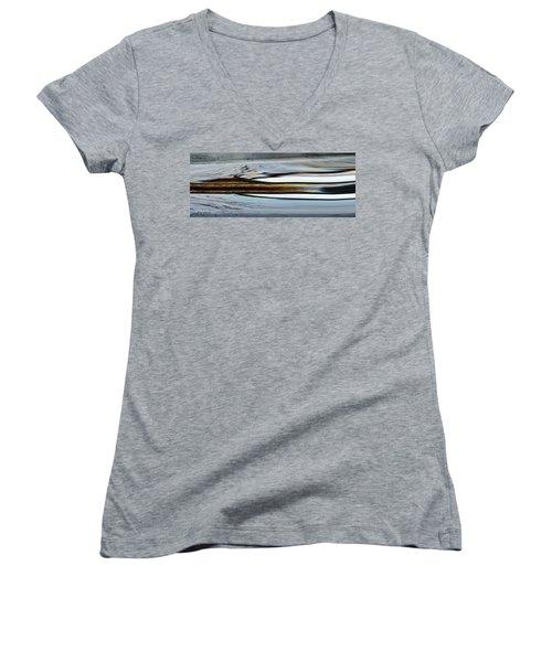 Desert Of Trust One Women's V-Neck T-Shirt