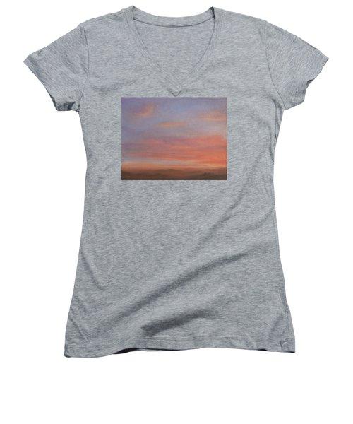 Desert Sky A Women's V-Neck