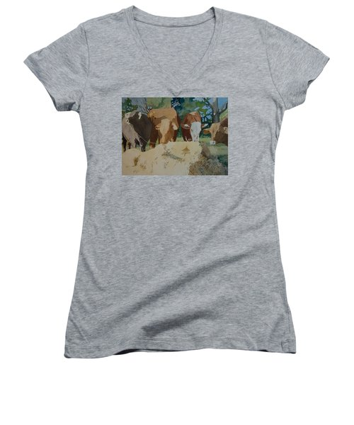 Dinner Time Women's V-Neck