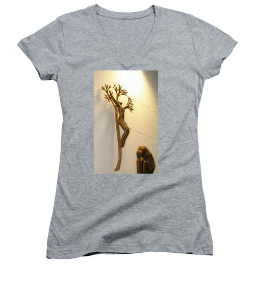 Divine Light Women's V-Neck T-Shirt