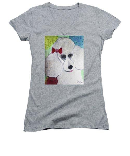 Dog Lover Women's V-Neck