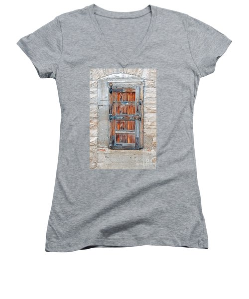 Door Series Women's V-Neck T-Shirt