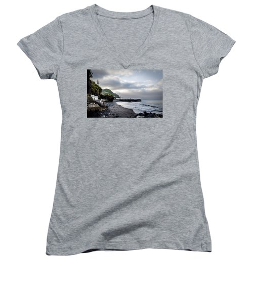 Down By The Sea  Women's V-Neck