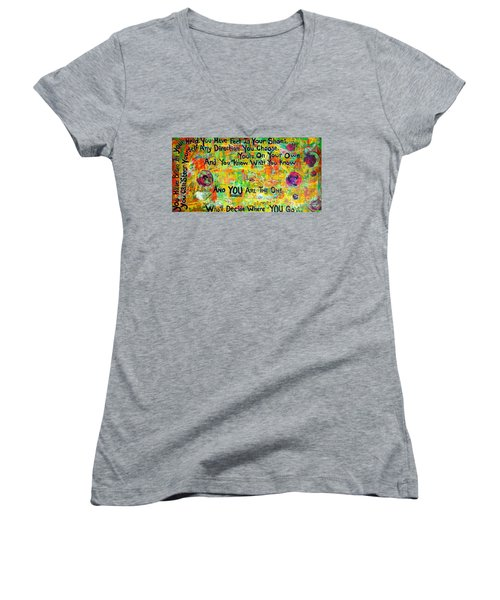 Dr. Suess Women's V-Neck (Athletic Fit)