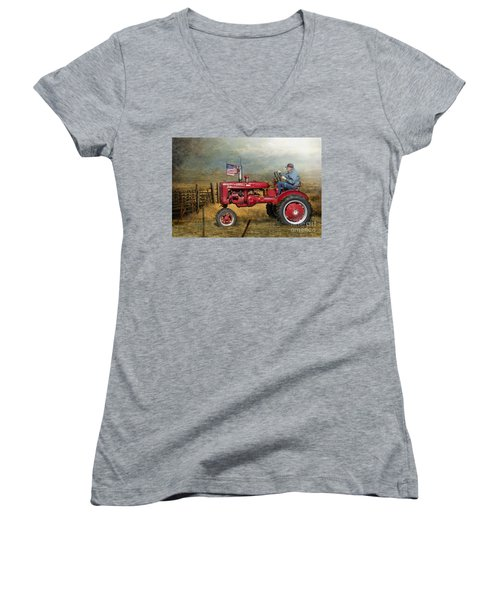 Dreams Of Yesteryear Women's V-Neck (Athletic Fit)
