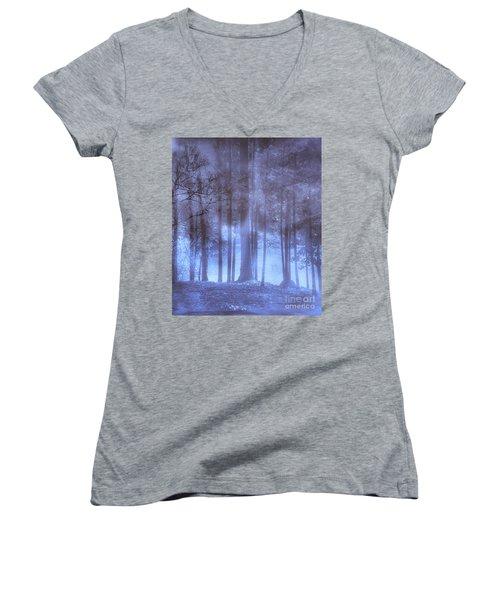 Dreamy Forest Women's V-Neck