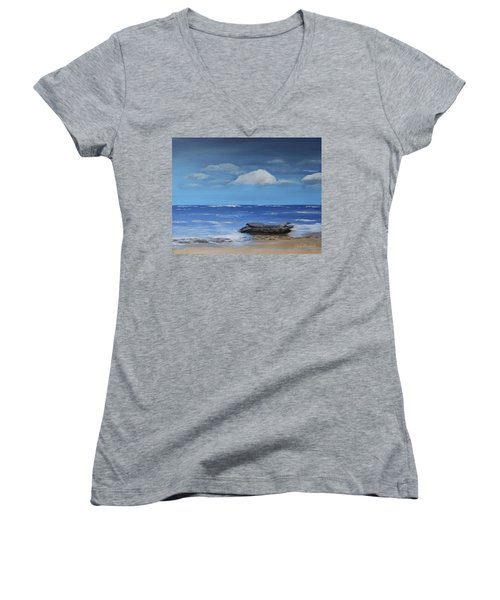 Driftwood Women's V-Neck T-Shirt