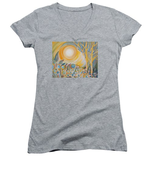 Duality Women's V-Neck (Athletic Fit)