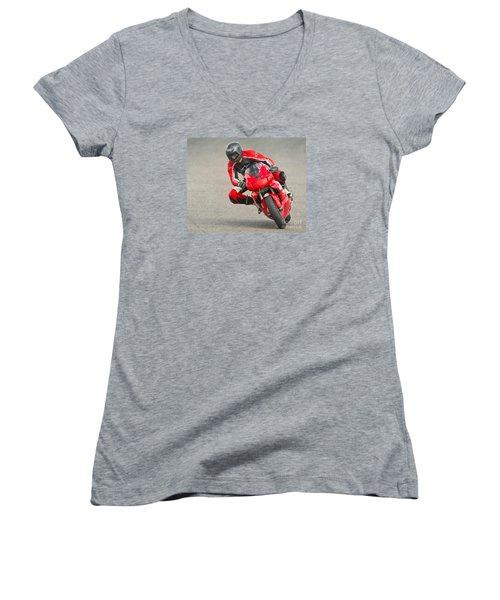 Ducati 900 Supersport Women's V-Neck T-Shirt