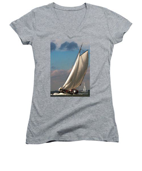 Women's V-Neck featuring the photograph Dutch Delight by Luc Van de Steeg