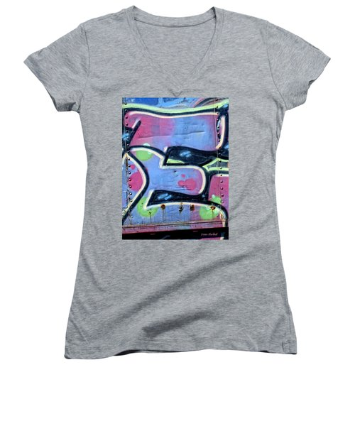 E Is For Equality Women's V-Neck (Athletic Fit)
