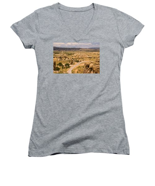 Eastern Mesa View Women's V-Neck (Athletic Fit)