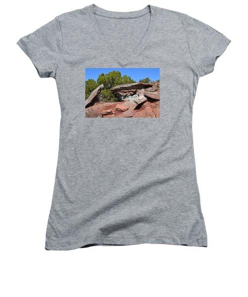 Easy Pass Women's V-Neck T-Shirt