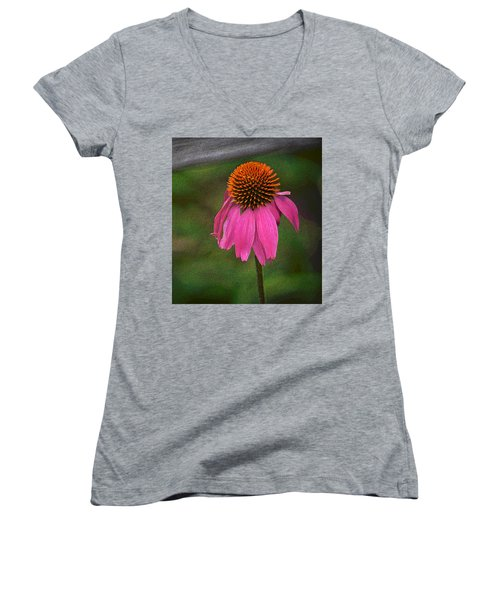 Echinacea  Women's V-Neck