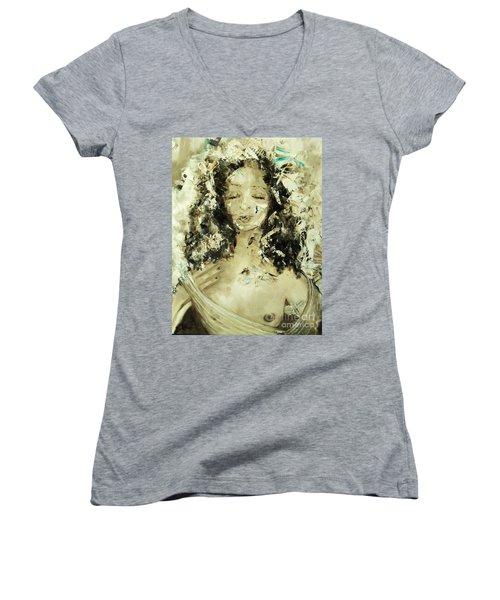 Egyptian Goddess Women's V-Neck