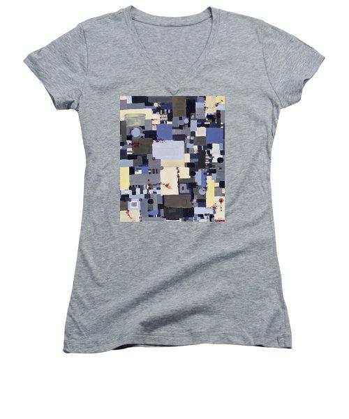 Elastic Dialog Women's V-Neck T-Shirt