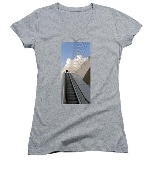 Elevator Women's V-Neck T-Shirt