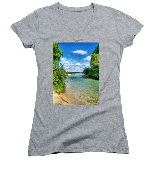 Elk River- Elk Rapids Michigan Women's V-Neck