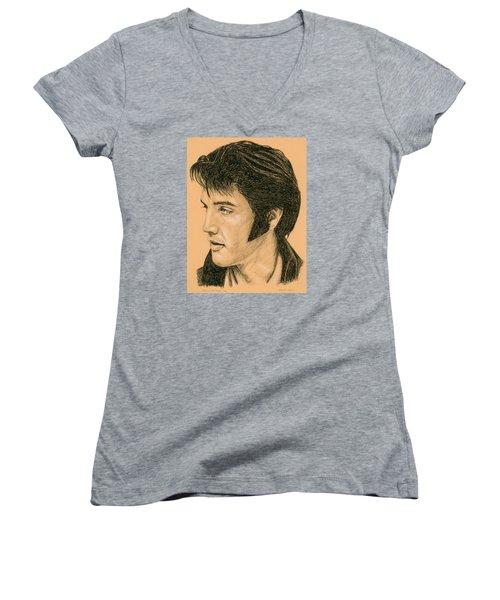 Elvis Las Vegas 69 Women's V-Neck T-Shirt