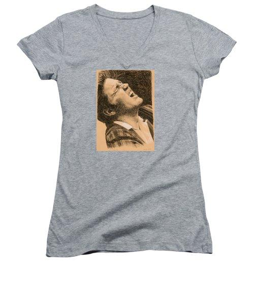 Elvis Studio '56 Women's V-Neck T-Shirt